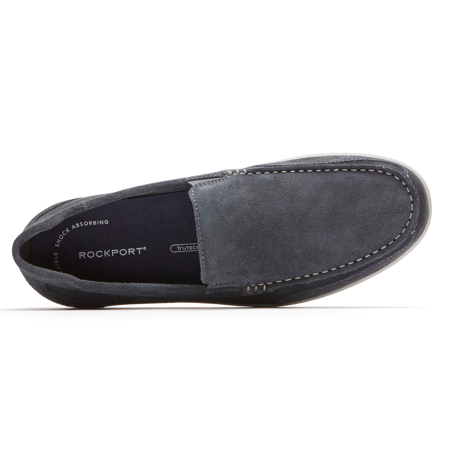 Bennett Lane IV Dark Shadow Suede Venetian