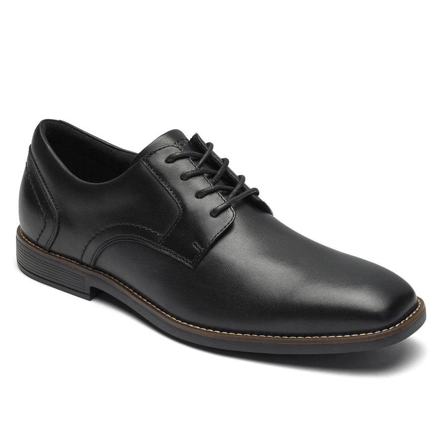 Slayter Black Plain Toe