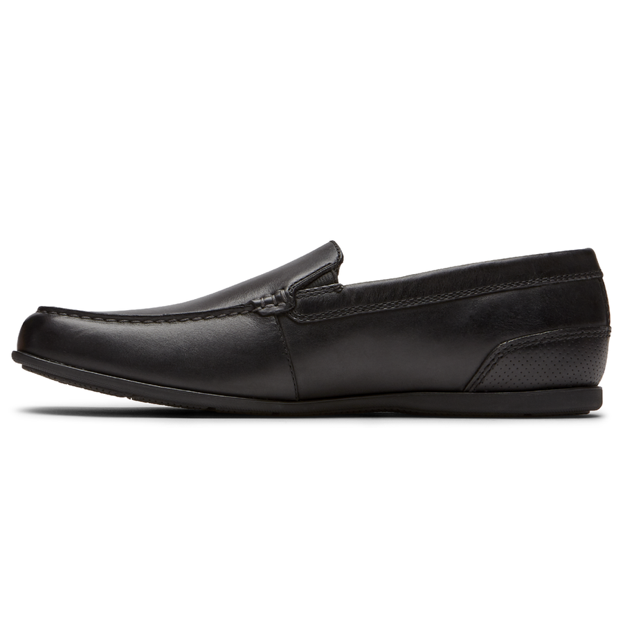 Malcolm Black Venetian Loafer