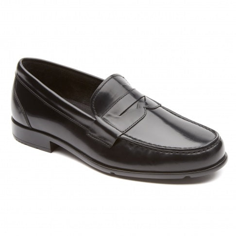 Classic Loafer Lite Black Brush Off Penny