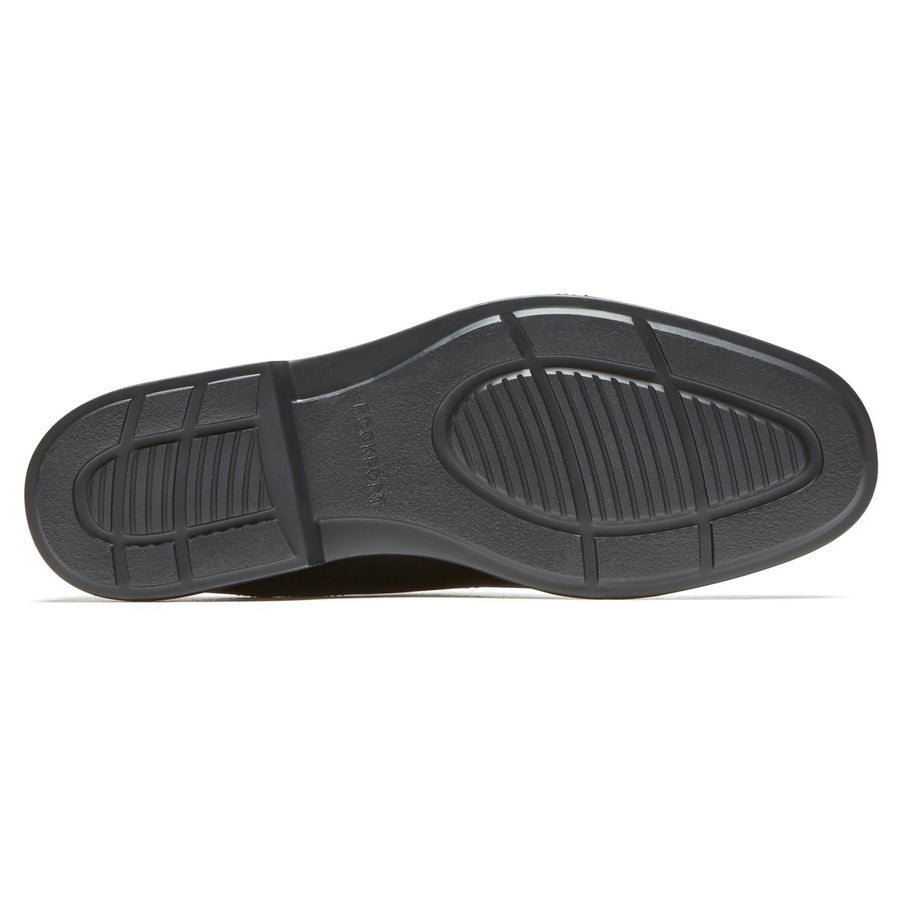Charlesroad  Black Easy Care Slip On Shoe