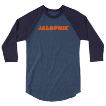 Load image into Gallery viewer, Jalopnik Logo 3/4 sleeve Baseball T-shirt
