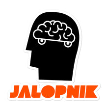 Load image into Gallery viewer, Jalopnik Brain Stickers