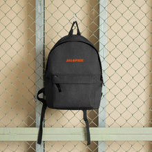 Load image into Gallery viewer, Jalopnik Logo Embroidered Backpack