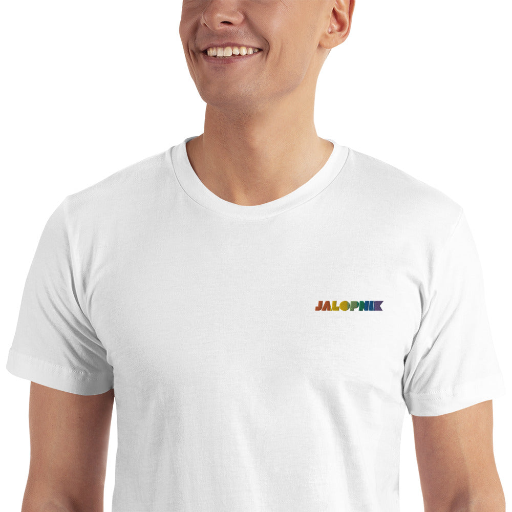Jalopnik Pride Embroidered T-Shirt