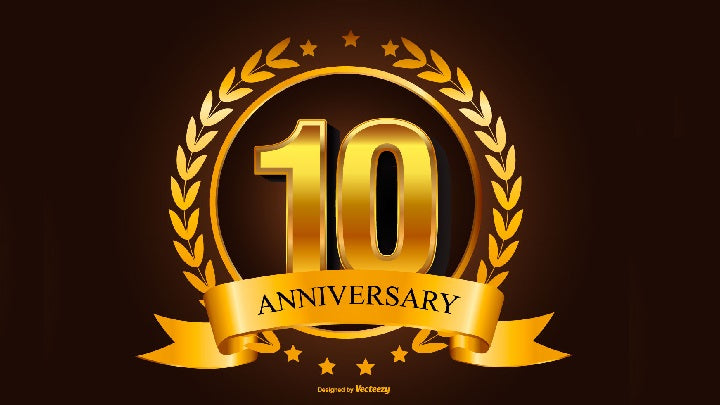 TABLEWAR's 10th Anniversary