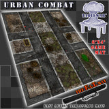 "Urban Combat 40K Battle Mat 6x4' 72x48"" Hidden Deployment Lines"