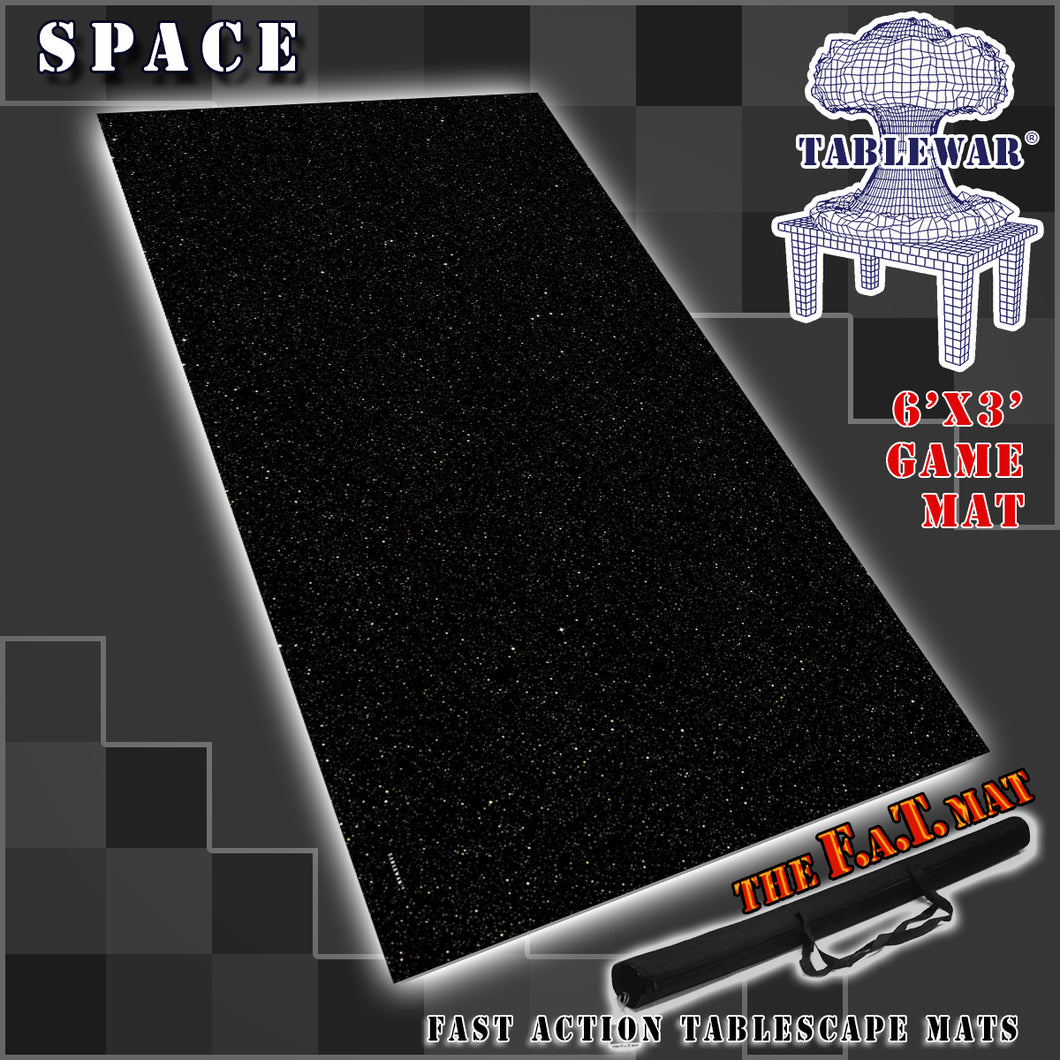6x3 'Space' F.A.T. Mat Gaming Mat