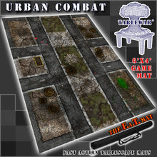 Load image into Gallery viewer, 6x4 'Urban Combat' F.A.T. Mat Gaming Mat
