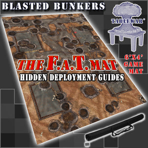 Hidden Deployment Guides 40k 6x4 battlemat gaming mat