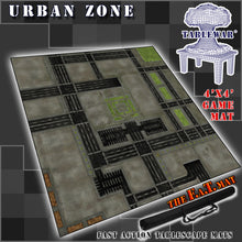 Load image into Gallery viewer, 4x4 'Urban Zone (10mm)' F.A.T. Mat Gaming Mat