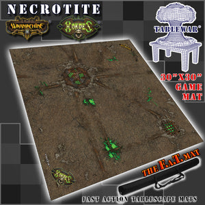 "30x30"" 'Necrotite' Privateer Press branded F.A.T. Mat"
