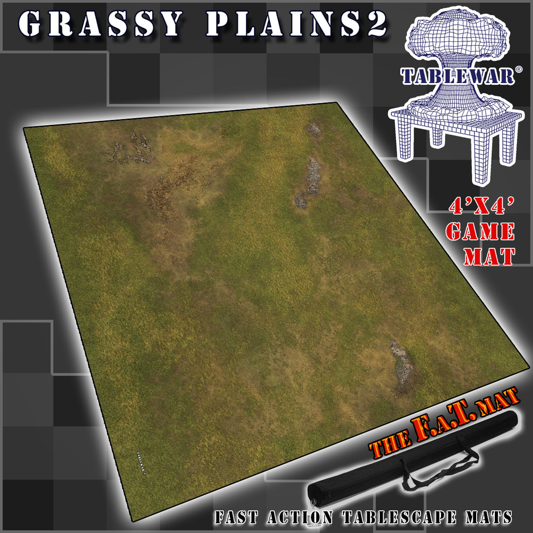 4x4 'Grassy Plains 2' F.A.T. Mat Gaming Mat