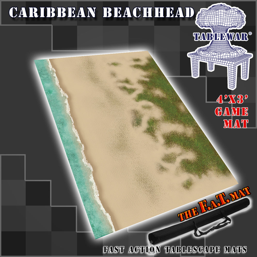 4x3 'Caribbean Beachhead (Land mass + small shoreline)