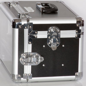 Case with latches allowing personal locks to secure the case