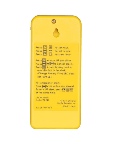 Screaming Meanie 110 extra loud 120 dB alarm timer. <br>Simple to set. Easy to use.