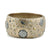 SIENA GOLD WIDE MARCASITE BANGLE