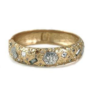 SIENA GOLD MARCASITE BANGLE