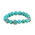 VS ALICANTE TURQUOISE SWIRL STRETCH BRACELET