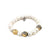 GOLD CERA PEARL STRETCH BRACELET