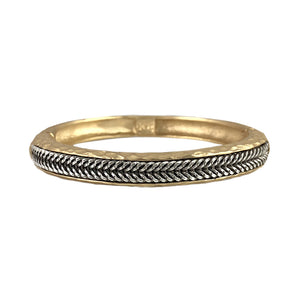 GOLD MALI THIN CHAIN BANGLE