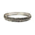 VINTAGE SILVER EGY CRYSTAL LINE BANGLE