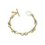 GOLD TWISTED RING BRACELET