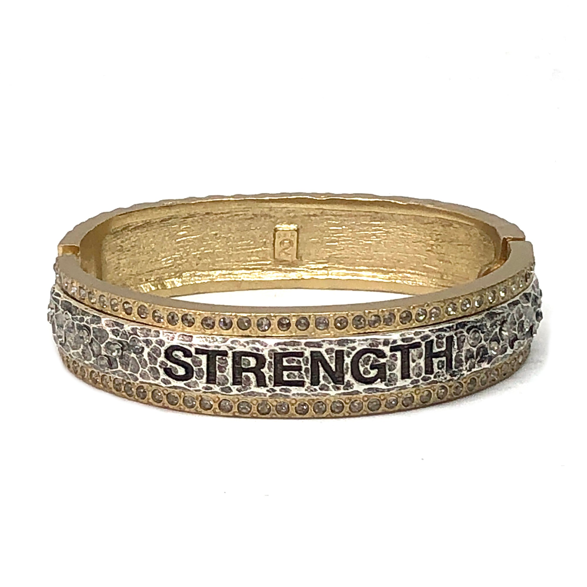 GOLD STRENGTH BANGLE