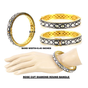 VERMEIL TANDA DIAMOND BANGLE