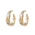 GOLD BELLA HOOPS