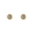 GOLD TOLEDO STUD EARRINGS
