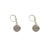 VINTAGE SILVER APOLLONIA DROP EARRING