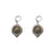 VINTAGE SILVER FRAME VG MINI DUPRÉ DROP EARRINGS
