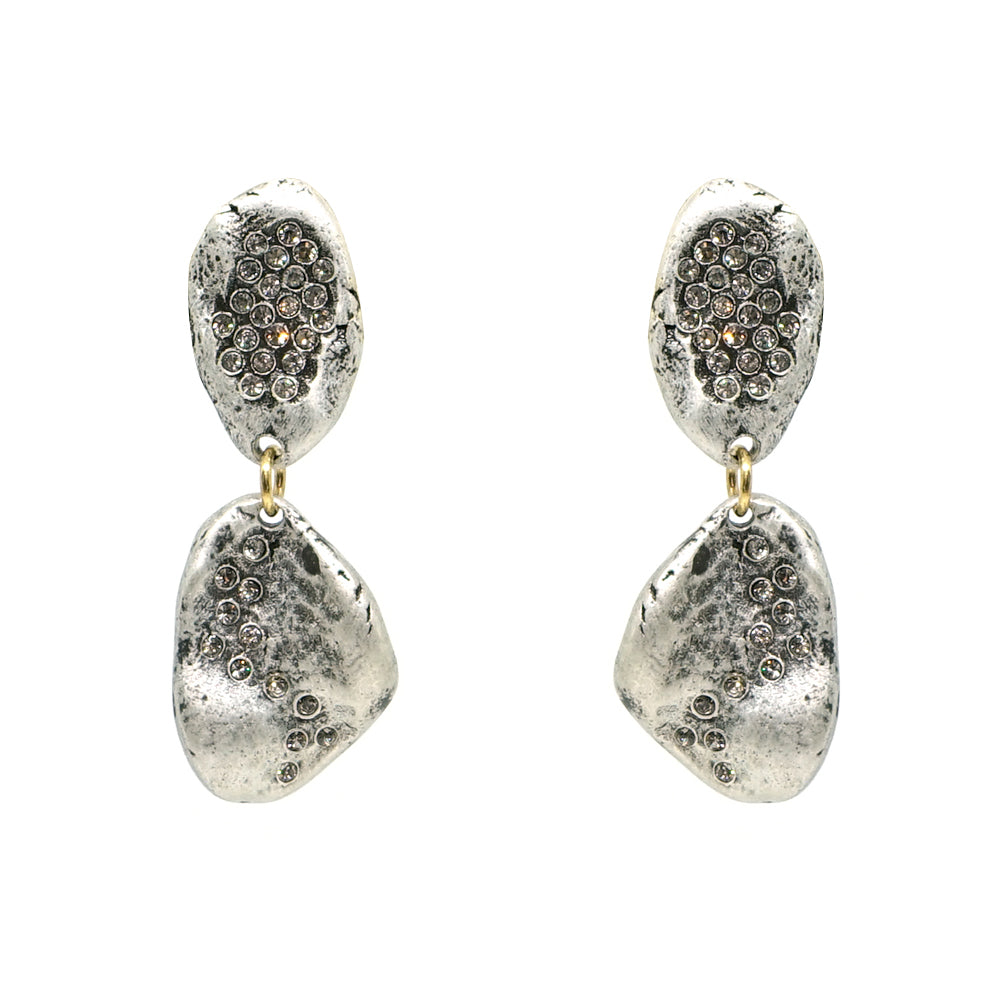 VS CRYSTAL IMPRESSION EARRINGS