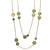 GOLD & LABRADORITE MULTI-COIN STATION NECKLACE