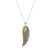 VINTAGE SILVER RAVENNA WING NECKLACE