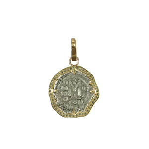 GOLD MOLAT COIN CHARM