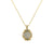 GOLD & VS LABRADORITE CONSTANTINE II SMALL NECKLACE