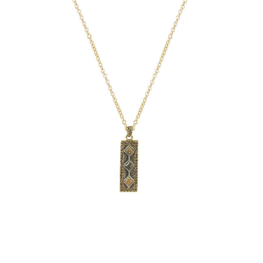 GOLD SURAT PENDANT NECKLACE