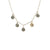 VINTAGE SILVER APOLLONIA MULTI-COIN NECKLACE