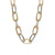 TWO TONE CHUNKY CATENA NECKLACE