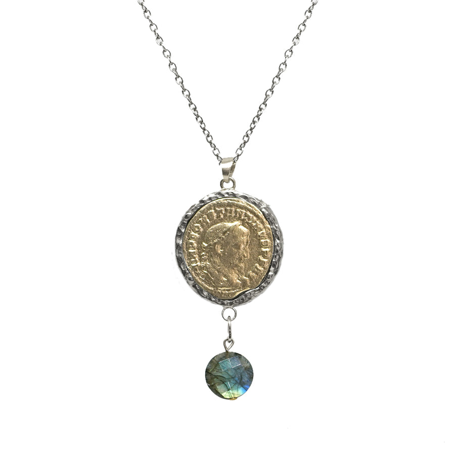 VS MAXIMIANUS LABRADORITE NECKLACE WITH BAIL
