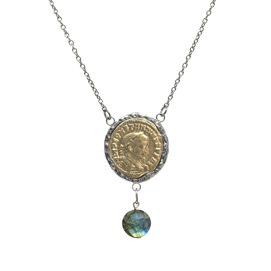 VS MAXIMIANUS LABRADORITE NECKLACE