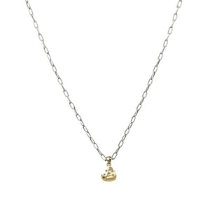 VS DAINTY CHAIN CRYSTAL NUGGET NECKLACE