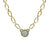 GOLD LINK ESCUDO NECKLACE