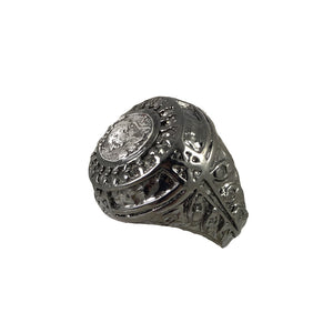 GUNMETAL PURI COIN RING
