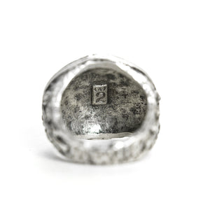 VINTAGE SILVER PURI COIN RING