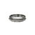 GUNMETAL EGY CRYSTAL THIN BAND RING