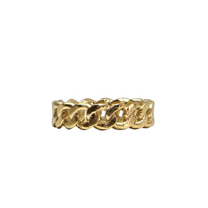 Gold Mini Catena Ring