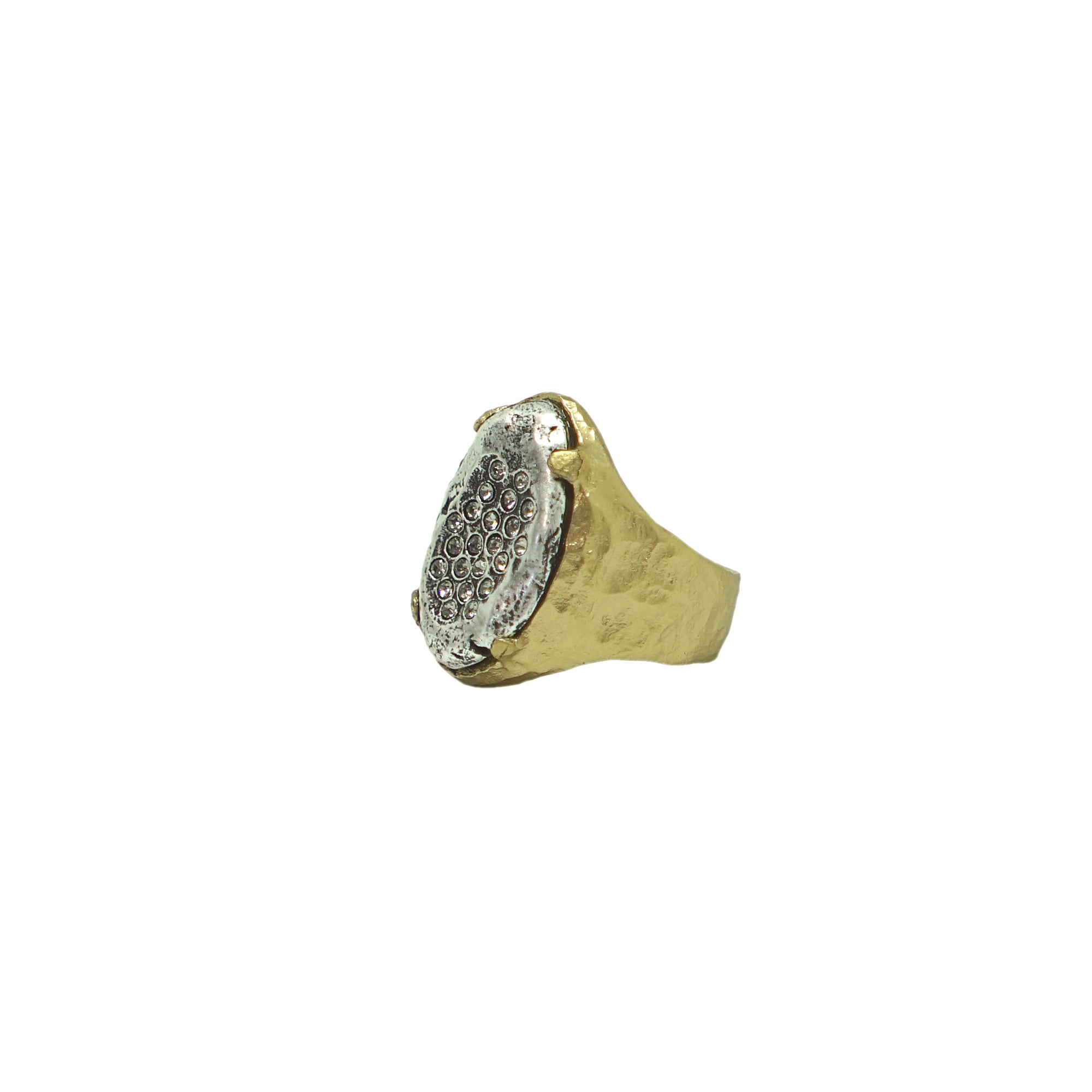 GOLD IMPRESSION FRAME RING